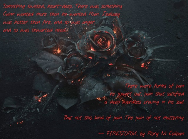 Burning Roses Firestorm