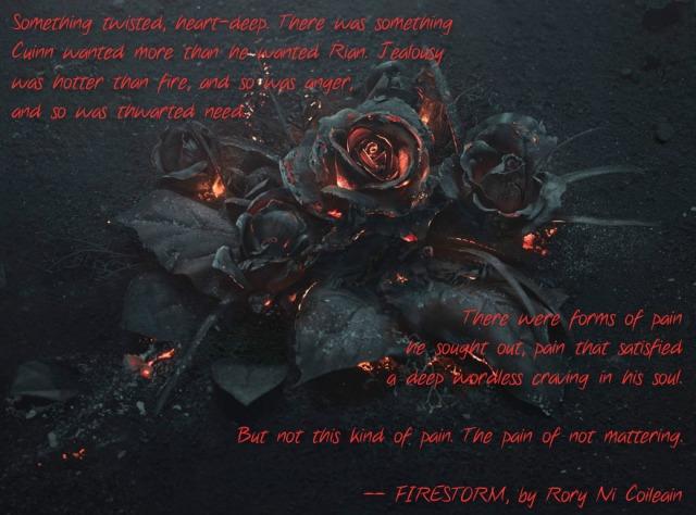 Burning Roses Firestorm