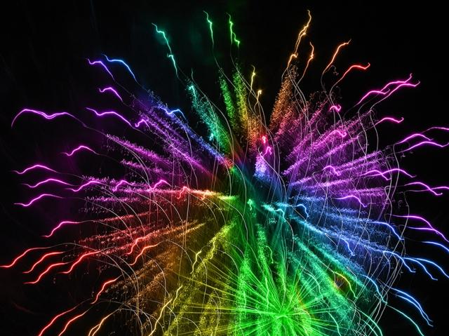 RainbowFireworks